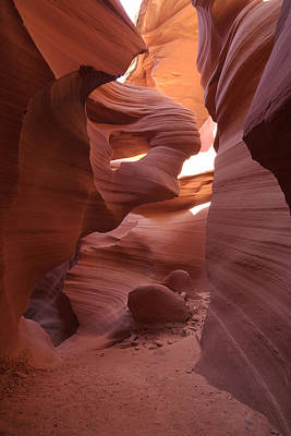 Lower Antelope Canyon Art Print