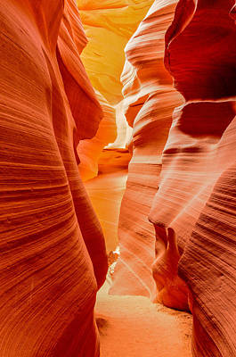 Photograph - Lower Canyon Formations by James Hammond