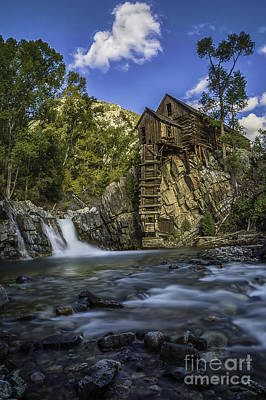 Photograph - Lower Crystal Mill  by Bitter Buffalo Photography