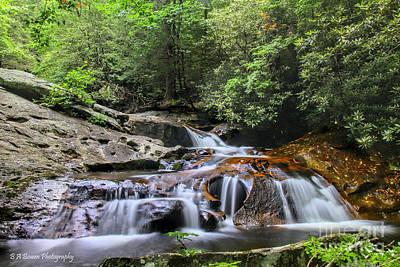 Photograph - Lower Falls At Mill Creek by Barbara Bowen