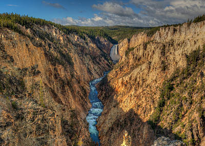 Photograph - Lower Falls Grand Canyon Of Yellowstone by Brenda Jacobs