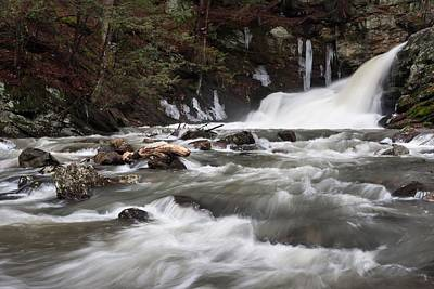 Photograph - Lower Falls by Mike Farslow