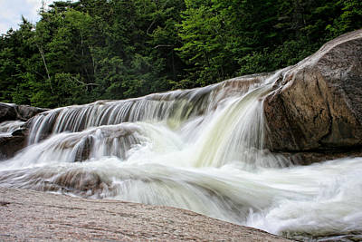 Photograph - Lower Falls On The Kancamagus by Heather Applegate