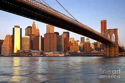 Photograph - Lower Manhattan by Brian Jannsen