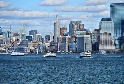 Skylines Royalty-Free and Rights-Managed Images - Lower Manhattan by Dan Sproul