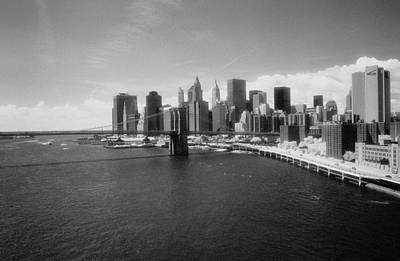 Photograph - Lower Manhattan Infrared by Dave Beckerman