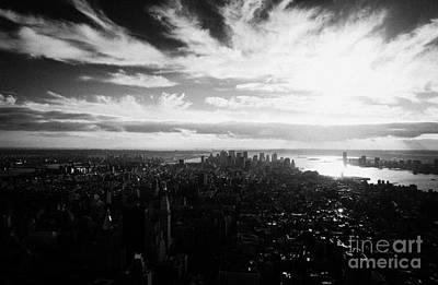 Lower Manhattan New York City Usa Art Print by Joe Fox