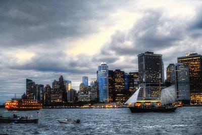 Photograph - Lower Manhattan Nyc by Dave Beckerman