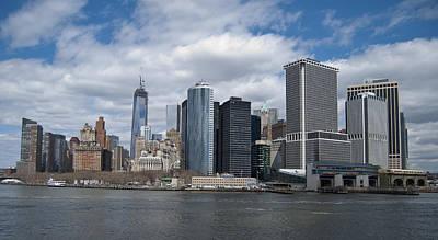 Photograph - Lower Manhattan by Peggie Strachan