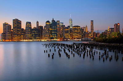 Photograph - Lower Manhattan Skyline by Andrea Galiffi