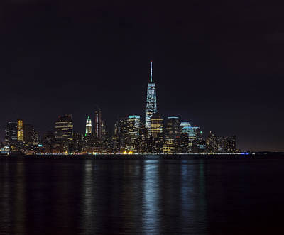 Photograph - Lower Manhattan Skyline by David Morefield