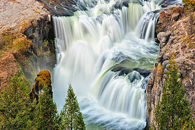 Lower Mesa Falls Art Print