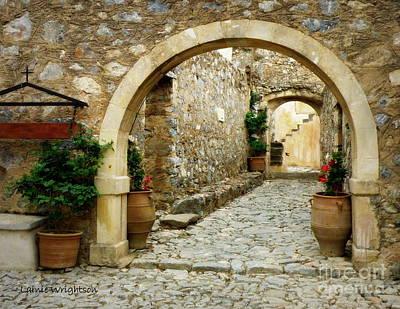 Lower Preveli Monastery Crete 1 Art Print by Lainie Wrightson