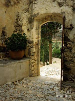Lower Preveli Monastery Crete 3 Art Print by Lainie Wrightson