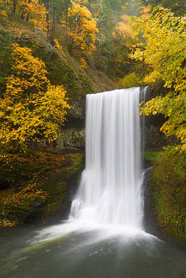 Oregon State Wall Art - Photograph - Lower South Falls by Patricia Davidson
