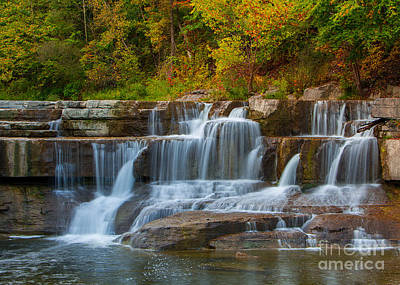 Photograph - Lower Taughannock Falls by Brad Marzolf Photography