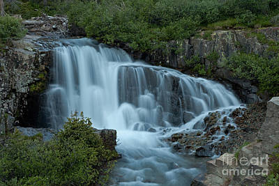 Photograph - Lower Twin Falls In Yankee Boy Basin by Fred Stearns