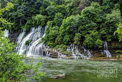 Photograph - Lower Twin Falls by Paul Mashburn