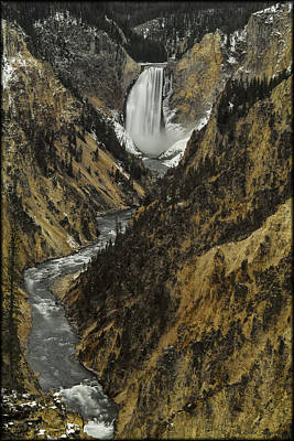 Photograph - Lower Yellowstone by Erika Fawcett