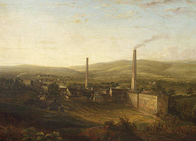 Lowerhouse Print Works, Burnley Art Print