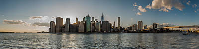 Art Print featuring the photograph Lowerr Manhattan Panoramic by Chris McKenna