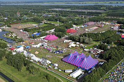 Flevoland Photograph - Lowlands Festival, Biddinghuizen by Bram van de Biezen