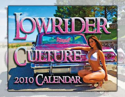 Photograph - Lowrider Cutture by Walter Herrit