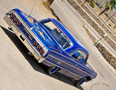 Photograph - Lowrider_19d by Walter Herrit