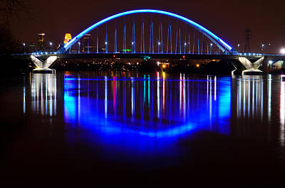 Art Print featuring the photograph Lowry Bridge by RC Pics