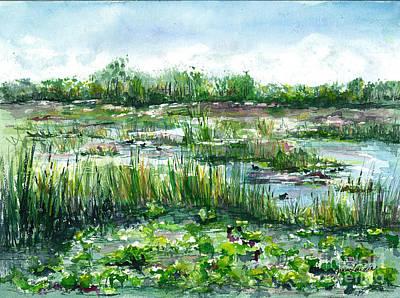 Loxahatchee Marsh Art Print