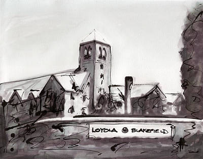 Loyola Painting - Loyola Blakefield by Ryan  Hopkins