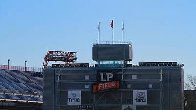 Nashville Tennessee Photograph - Lp Field Nashville Tennessee by Dan Sproul