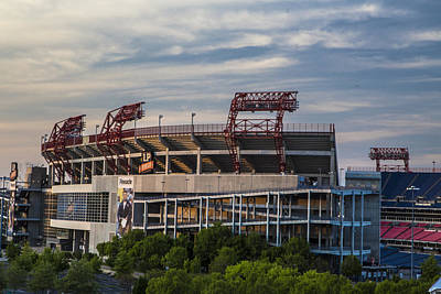 Photograph - Lp Field - Nashville Tennessee  by John McGraw