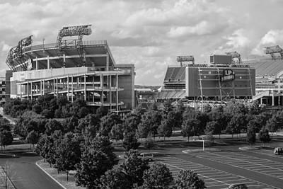 Photograph - Lp Field On A Beautiful Day by Robert Hebert