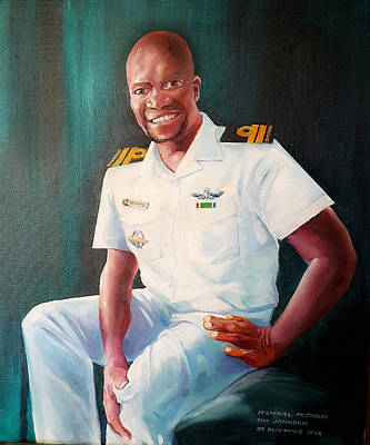 Lt Gabriel Mothobi Art Print