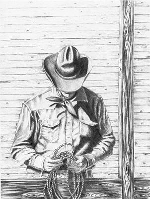 Drawing - LT by Lawrence Tripoli