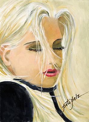 Painting - Lu Lu Is  Back In Town by Pati Pelz