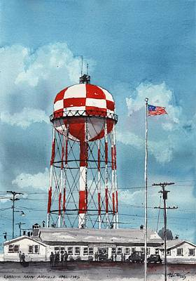 Lubbock Army Airfield Texas Art Print by Tim Oliver