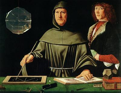 Accountancy Wall Art - Photograph - Luca Pacioli by Sheila Terry/science Photo Library