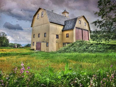 Seneca Lake Photograph - Lucas Farm Est 1893 by Lori Deiter
