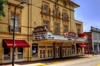Photograph - Lucas Theatre For The Arts by Greg and Chrystal Mimbs