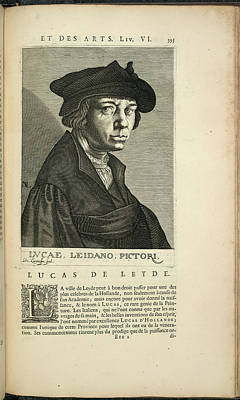 Painter Photograph - Lucas Van Leyden by British Library