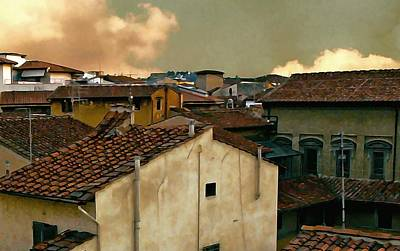 Lucca At Dusk Art Print