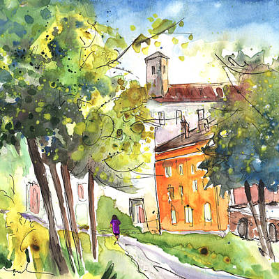 Lucca In Italy 02 Print by Miki De Goodaboom