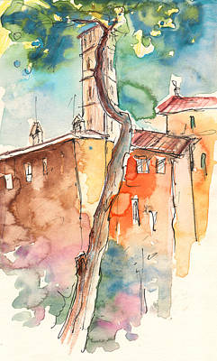 Painting - Lucca In Italy 05 by Miki De Goodaboom