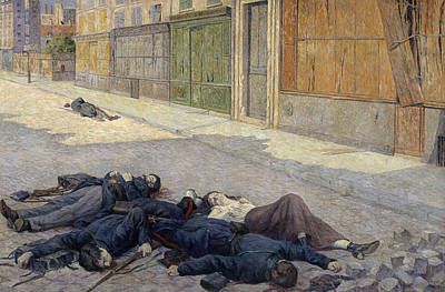 Socialism Painting - Luce Street In Paris by Granger