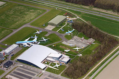 Flevoland Photograph - Luchtvaartpark Aviodrome, Lelystad by Bram van de Biezen