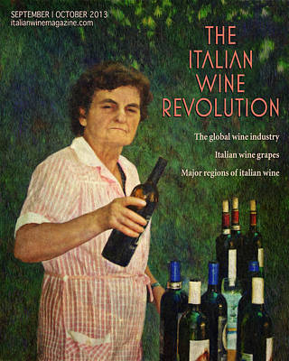 Painting - Wine Revolution by Sandra Selle Rodriguez