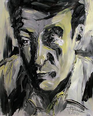 Painting - Lucian Freud Portrait by Jim Vance