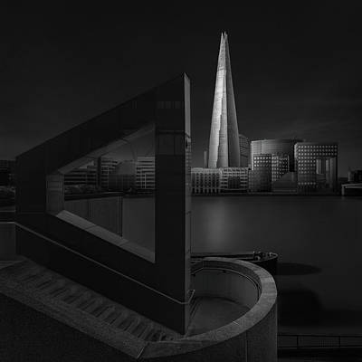 Perspective Photograph - Lucid Dream I - The Shard by Oscar Lopez
